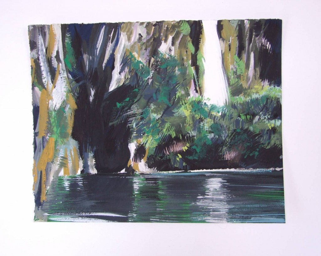 Fiordland small paintings 219