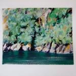 Fiordland small paintings 233